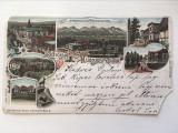 Carte postala veche vedere Ungaria, 1897, circulata