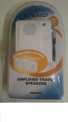 Boxe mini cu amplificare pentru Laptop foto