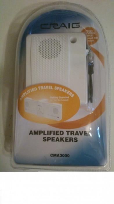 Boxe mini cu amplificare pentru Laptop