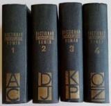 DICTIONAR ENCICLOPEDIC ROMAN , 1962 - 1966 , 4 VOLUME
