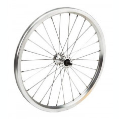 Roata Fata Bicicleta 20x1.50 - 1.75 - Aluminiu - Simpla