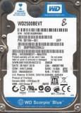 """Hdd western digital WD Scorpio Blue 250GB giga SATA-300 wd2500bevt 2 3 2.5"""""""