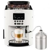 Espressor automat Espresseria Automatic EA8161, dispozitiv spumare, rasnita, ecran LCD, 15 bar, 1.7 l, alb, Krups