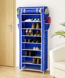 Pantofar textil albastru