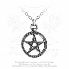 Pandantiv pentagrama Blestemul lui Dante foto