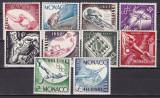 Monaco  1953  sport  olimpiada  MI 458-467   MNH  w63