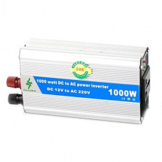 Invertor auto 1000W Chaomin 12V, sinusoida modificata, clestisori