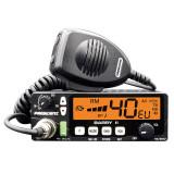 Cumpara ieftin Statie radio CB Barry II President, 4 W, 12/24 V, VOX, 40 canale, USB, Negru