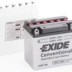 Exide baterie maxiscuter 12N7-4B 137x76x135 7Ah 12V 75A Kawasaki