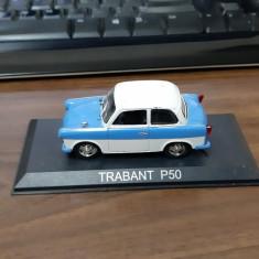 TRABANT P50 DEAGOSTINI . MASINI DE LEGENDA ,SCALA 1/43
