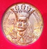 SV * Romania Medalia STEFAN CEL MARE * DOMN AL MOLDOVEI 1457 - 1504     unifata