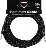 Cablu chitara Fender Custom Shop BlackTweed 25ft (7,5 m)