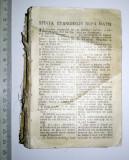 BIBLIE VECHE - ARE DOAR JUMATATE DE COPERTA