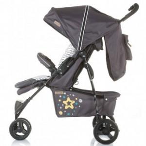 Carucior sport copii 6 luni + Chipolino Noby granite grey