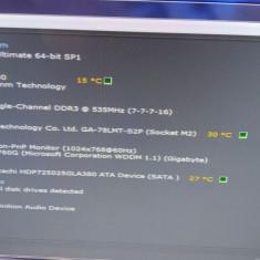 Kit Quadcore AMD FX-4130, 3.60 Ghz, AM3 + Gigabyte GA-78LMT-S2P+ 2 GB DDR3