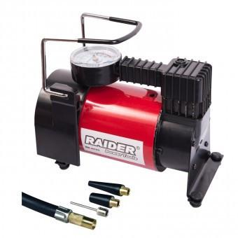 Compresor de aer pentru auto Raider RD-AC05 , presiune max 9.6 Bar, alimentare 12V foto