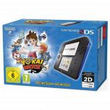 Consola Nintendo 2DS albastru-negru + joc Yo Kay Watch