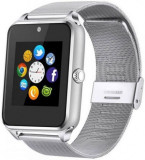 Smartwatch iUni GT08s Plus, Procesor Dual-Core 1.2GHz, Display 1.54inch, 128MB RAM, 64MB Flash, Bluetooth (Argintiu)
