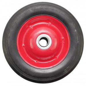 Roata carucior - cauciuc brut - rulment - 8x1.75 - MTO-GPA00026