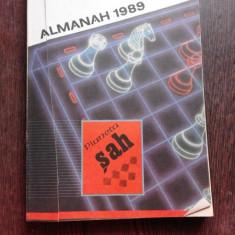ALMANAH 1989. LITERATURA SI JOCURILE MINTII. PLANETA SAH