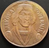 Moneda 10 ZLOTI - POLONIA, anul 1968   *cod 4840 - Mikolaj Kopernik
