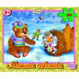 Cumpara ieftin Puzzle - Manusa colorata (30 piese)/***