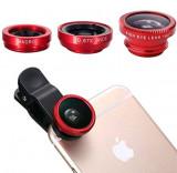 Cumpara ieftin Obiectiv-Lentila universala pentru telefon Clip Lens 3 in 1