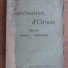 Edouard Schure - Sanctuaires d'Orient. Egypte, Grece, Palestine (1912)