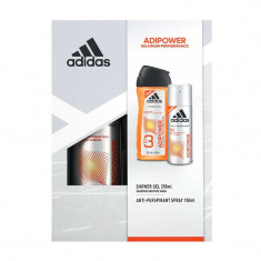 ADIDAS - SET BODY HAIR FACE SI SPRAY - ADIPOWER MAXIMUM PERFORMANCE