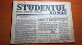 studentul roman 15 mai 1946 anul 1,nr.1-art. universitarii si ion antonescu