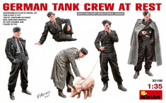 1:35 German Tank Crew at Rest - 6 figures 1:35 foto