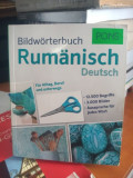 dicționar in imagini German - Roman . Lot .