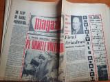 Magazin 3 aprilie 1965-barajul vidraru,art. orasul constanta si babele bucegi
