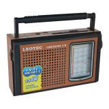 Radio portabil Leotec LT-30, 8 benzi, mufa jack