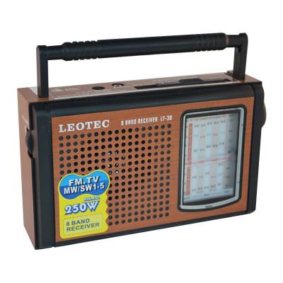 Radio portabil Leotec LT-30, 8 benzi, mufa jack foto