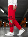 Cumpara ieftin Pantaloni de trening bărbați roșu Bolf MK10