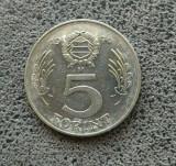 5 Forint 1976, Europa, Nichel