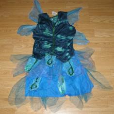 Costum carnaval serbare fluturas zana pentru copii de 8-9-10 ani, 8-9 ani, Din imagine