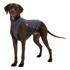 Vestă de protecție pentru câini XS, gri