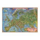 Harta Europei pentru copii - Harta de contur (verso), 500x350mm (GHECP50)