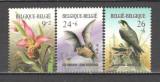 Belgia.1987 Anul protejarii mediului-Flori si pasari KB.16, Nestampilat