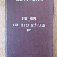 CODUL PENAL SI CODUL DE PROCEDURA PENALA 1983