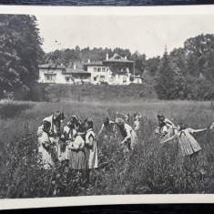 ORASUL STALIN - PALATUL PIONIERILOR - GRUP DE PIONIERI - 1957