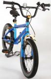 Bicicleta pentru copii 16 inch albastru metalizat Volare Freestyle Cool Rider 91648
