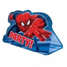 Invitatii Spiderman Party petrecere copii set 8 buc