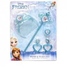 Set Frozen, Bagheta + diadema + accesorii Frozen