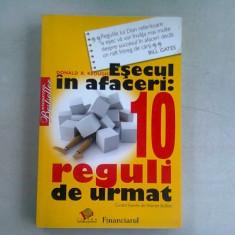ESECUL IN AFACERI. 10 REGULI DE URMAT - DONALD R. KEOUGH