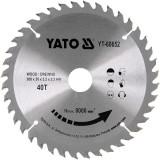 Disc circular lemn 200 x 30 x 3.2 mm cu 40 dinti Yato YT-60652