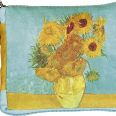Sacosa textila Van Gogh Sunflowers