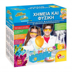 Set educativ stiintific Laboratorul de Chimie Lisciani, 8-12 ani